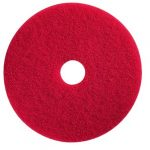 "17"" RED BUFFING FLOOR PAD-1 PAD"