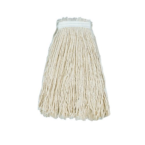 24 OZ. WHITE CUT END RAYON MOP HEAD- 1 EACH