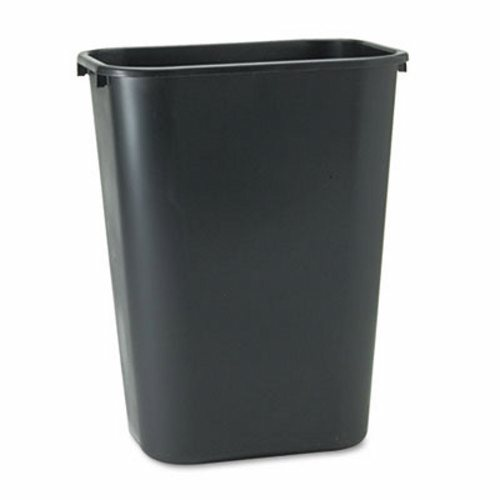 10 GAL. BLACK PLASTIC RECEPTACLE-1 EACH