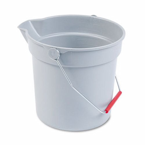 GRAY 10 QT. BRUTE BUCKET-1 EACH