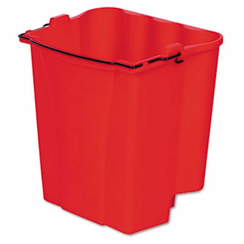 RED DIRTY WATER BUCKET INSERT FOR RUBBERMAID WAVE BRAKE MOP BUCKETS- 1 EACH