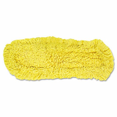 "18""  TRAPPER TREATED YELLOW LOOPED END  DUST MOP HEAD-1 EACH"