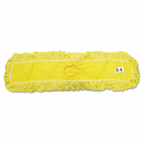 "36"" TRAPPER YELLOW TREATED LOOPED END  DUST MOP HEAD-1 EACH"