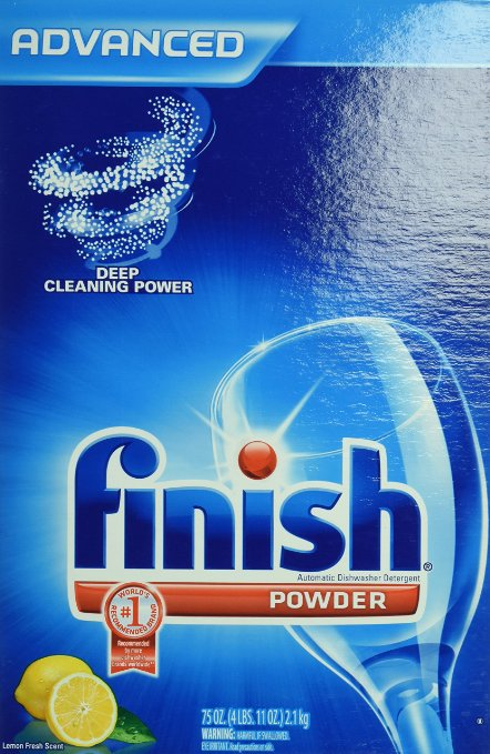 FINISH POWDER FRESH SCENT AUTOMATIC DISH DETERGEN (75 OZ.) 6/CS