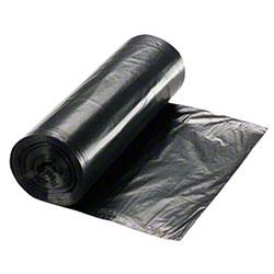 24 X 24 BLACK .30 MIL 10 GAL. CAN LINER ON ROLLS-1000/CASE