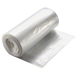 24 X 24 CLEAR .74 MIL 10 GAL. CAN LINER ON ROLLS- 500/CS