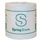 SPRING GROVE  2 PLY TOILET TISSUE 500 SHEETS/ROLL  96/CASE