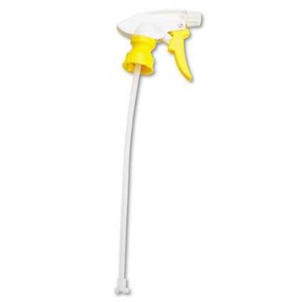 "YELLOW 9  1/2"" CHEMICAL RESISTANT SPRAYER-1 EACH"