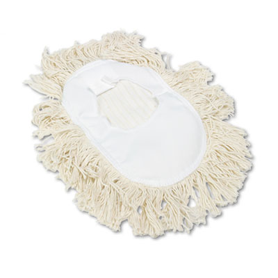 WEDGE WHITE DUST MOP HEAD-1 EACH