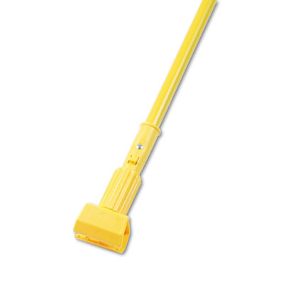 "JAWS 60"" MOP HANDLE/ YELLOW WITH VINYL COVERED HANDLE"