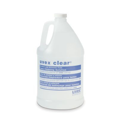 UVEX CLEAR SAFETY LENS CLEANING SOLUTION-GALLON